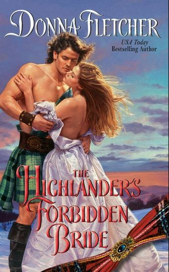 The Highlander's Forbidden Bride - cover