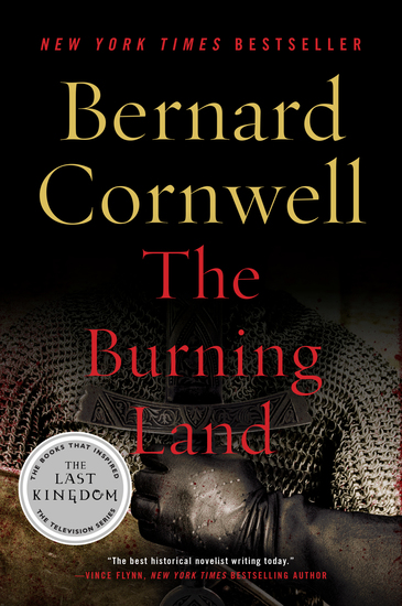 The Burning Land - A Novel - cover