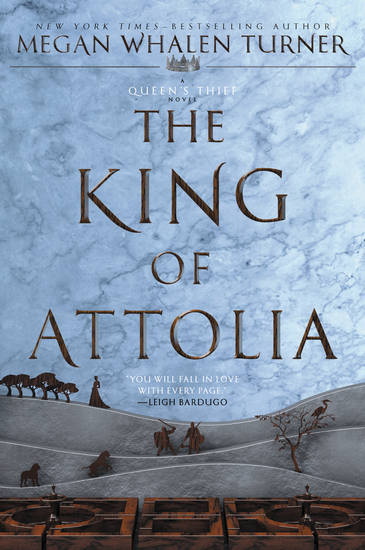 The King of Attolia - cover
