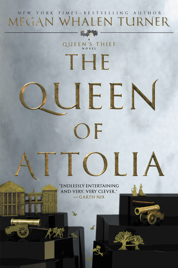 The Queen of Attolia - cover
