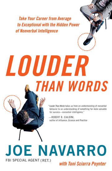 Louder Than Words - Take Your Career from Average to Exceptional with the Hidden Power of Nonverbal Intelligence - cover