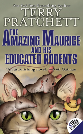 The Amazing Maurice and His Educated Rodents - cover