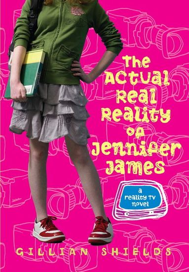 The Actual Real Reality of Jennifer James - cover