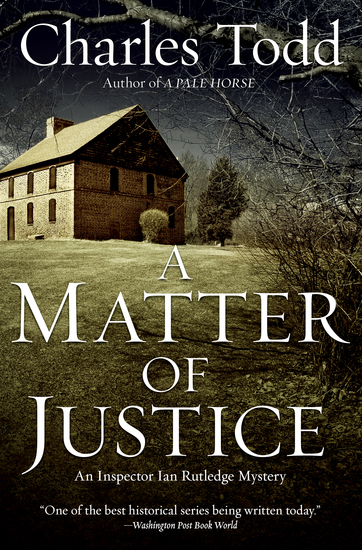 A Matter of Justice - cover