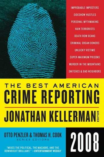 The Best American Crime Reporting 2008 - cover