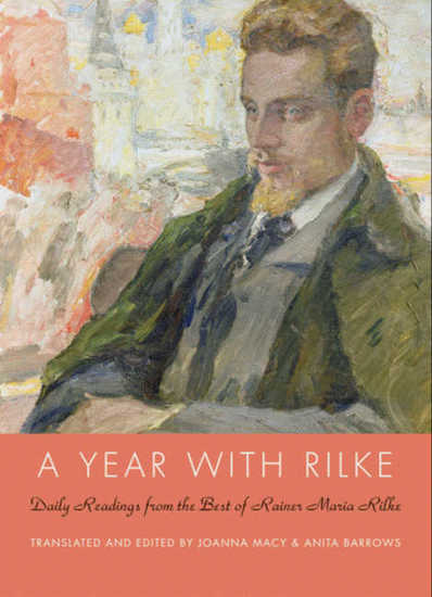 A Year with Rilke - Daily Readings from the Best of Rainer Maria Rilke - cover