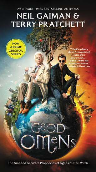 Good Omens - The Nice and Accurate Prophecies of Agnes Nutter Witch - cover