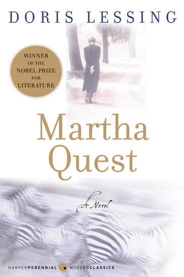Martha Quest - A Novel - cover