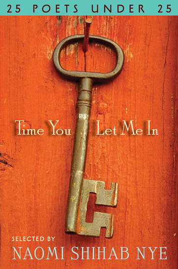 Time You Let Me In - 25 Poets under 25 - cover