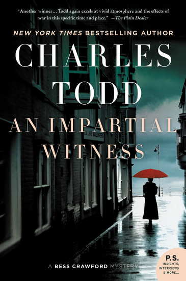 An Impartial Witness - A Bess Crawford Mystery - cover
