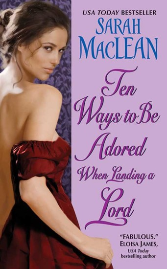 Ten Ways to Be Adored When Landing a Lord - cover