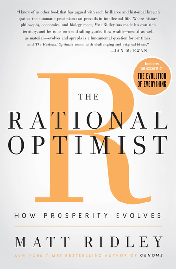 The Rational Optimist - cover