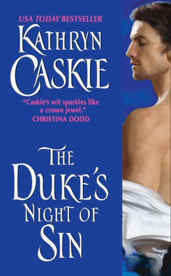 The Duke's Night of Sin - cover