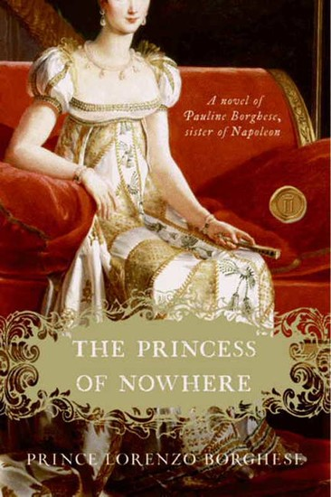 The Princess of Nowhere - A Novel - cover