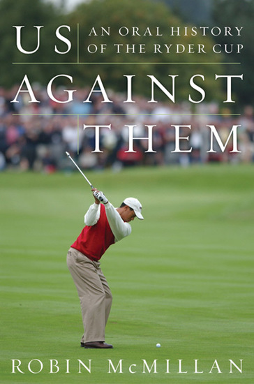 Us Against Them - Oral History of the Ryder Cup - cover
