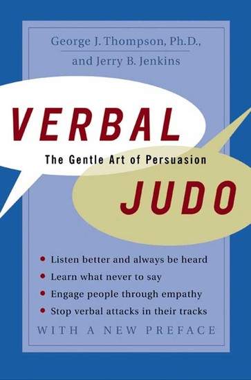 Verbal Judo - The Gentle Art of Persuasion - cover