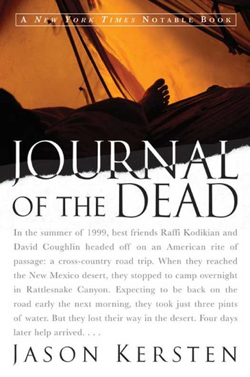 Journal of the Dead - A Story of Friendship and Murder in the New Mexico Desert - cover