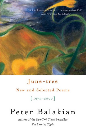 June-tree - New and Selected Poems 1974-2000 - cover