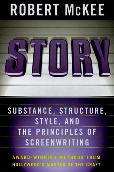 Story - Style Structure Substance and the Principles of Screenwriting - cover