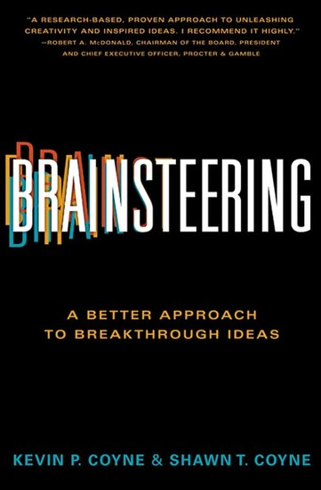 Brainsteering - The Better Approach to Breakthrough Ideas - cover