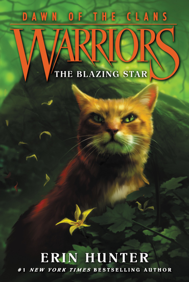 Warriors: Dawn of the Clans #4: The Blazing Star - cover