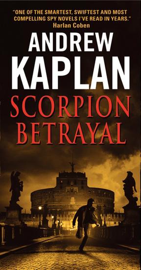 Scorpion Betrayal - cover