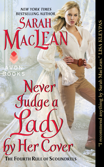 Never Judge a Lady by Her Cover - The Fourth Rule of Scoundrels - cover