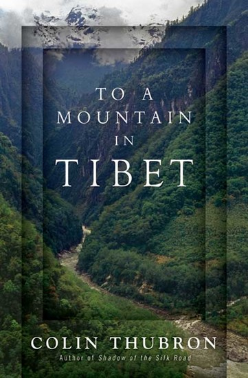 To a Mountain in Tibet - cover