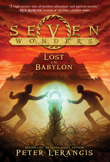 Seven Wonders Book 2: Lost in Babylon - cover