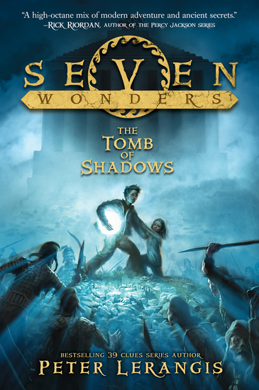 Seven Wonders Book 3: The Tomb of Shadows - cover