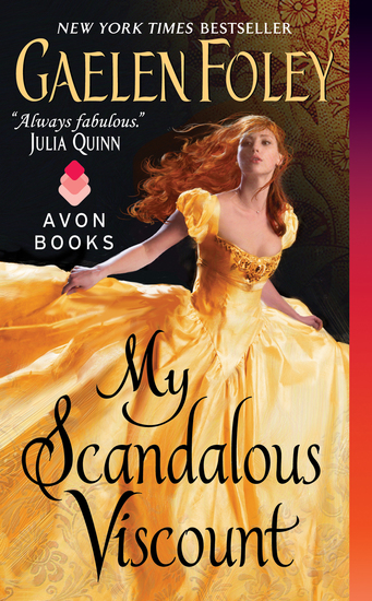 My Scandalous Viscount - cover
