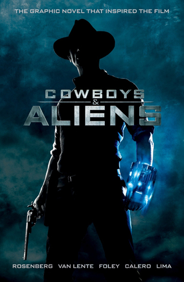 Cowboys and Aliens - cover