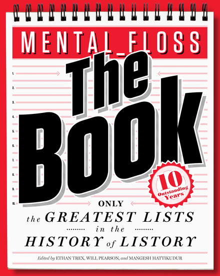 mental_floss: The Book - The Greatest Lists in the History of Listory - cover