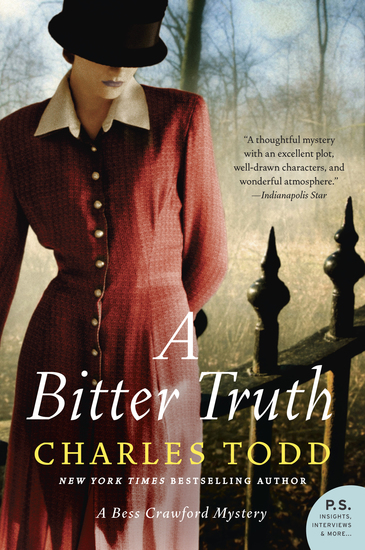 A Bitter Truth - A Bess Crawford Mystery - cover