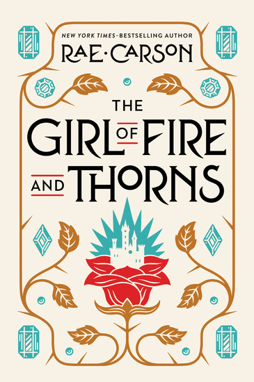 The Girl of Fire and Thorns - cover