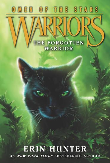 Warriors: Omen of the Stars #5: The Forgotten Warrior - cover