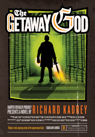 The Getaway God - A Sandman Slim Novel - cover
