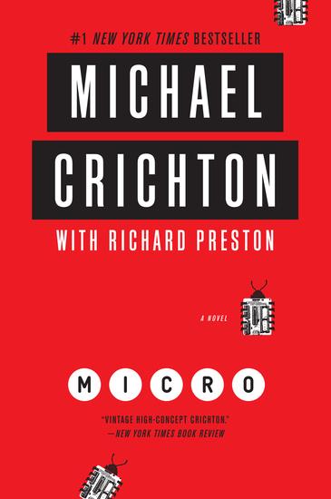 Micro - A Novel - cover