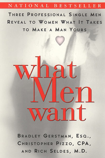 What Men Want - Three Professional Single Men Reveal to Women What It Takes to Make a Man Yours - cover