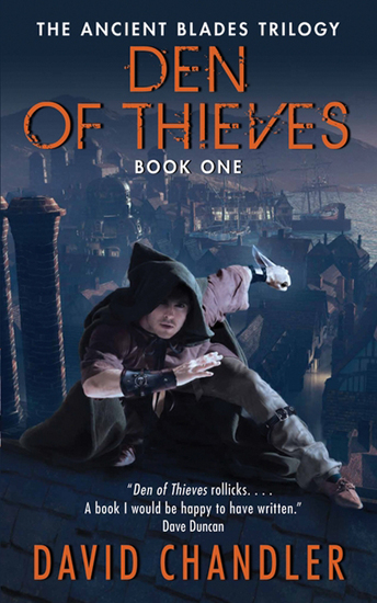 Den of Thieves - The Ancient Blades Trilogy: Book One - cover
