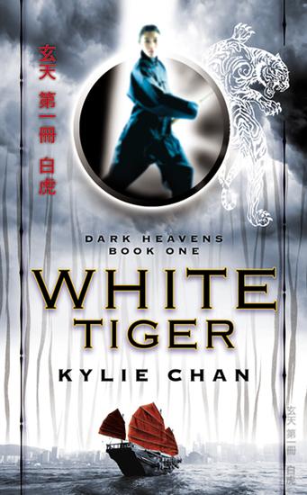 White Tiger - Dark Heavens Book One - cover