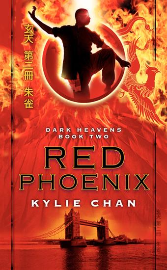 Red Phoenix - Dark Heavens Book Two - cover