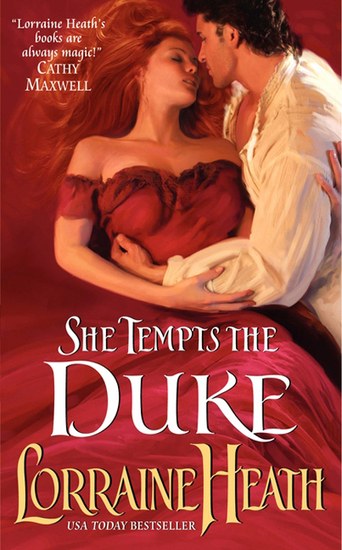 She Tempts the Duke - cover