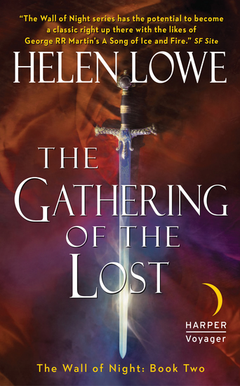 The Gathering of the Lost - The Wall of Night Book Two - cover