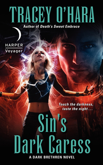 Sin's Dark Caress - A Dark Brethren Novel - cover