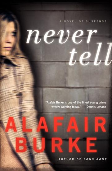 Never Tell - A Novel of Suspense - cover