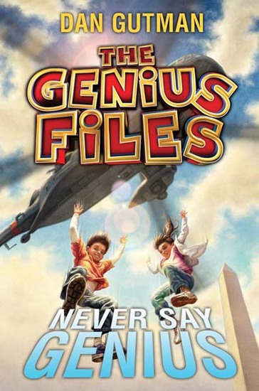 The Genius Files #2: Never Say Genius - cover