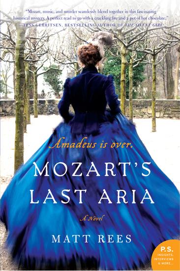 Mozart's Last Aria - A Novel - cover