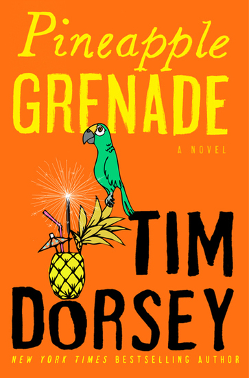 Pineapple Grenade - A Novel - cover