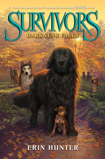 Survivors #3: Darkness Falls - cover